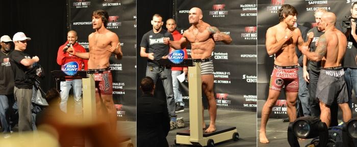 Elias Theodorou vs Bruno Santos  Weigh In Staredown