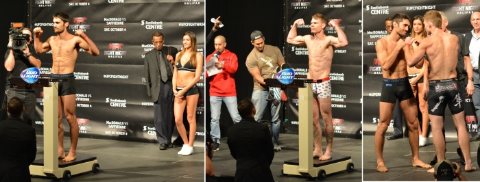 Jason Saggo vs Paul Felder  Weigh In Staredown