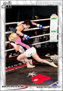 Cindy Dandois takedown