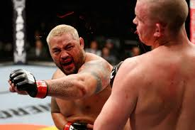Mark Hunt crochet contre Stefan Struve