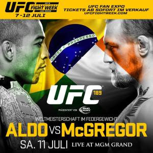 Conor McGregor contre Jose Aldo