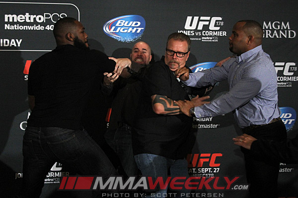 Jon-Jones-Daniel-Cormier-Brawl-UFC-178-Media-Day